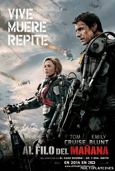 Ver Al filo de la mañana / Edge of tomorrow  (2014) Online Gratis