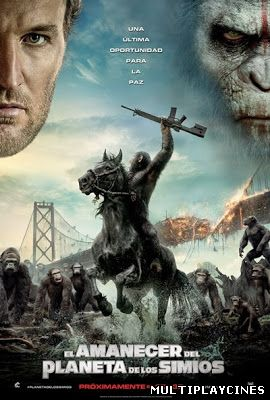 Ver El amanecer del Planeta de los Simios (Dawn of the Planet of the Apes) (2014) Online Gratis