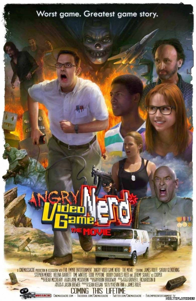 Ver Angry Video Game Nerd: The Mov... Online Gratis