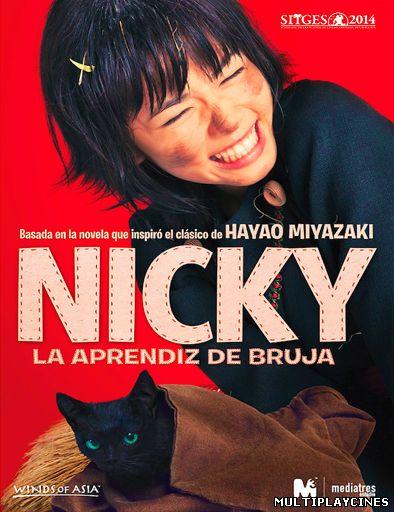 Ver Majo no takkyûbin (Nicky, la aprendiz de bruja) (2014) Online Gratis