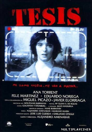 Ver Tesis (1996) Online Gratis